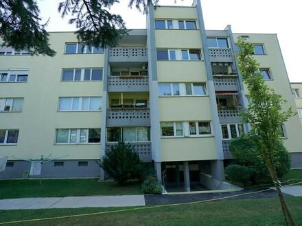 Eigentumswohnung mit Loggia mit Grünblick
