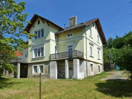 Sanierungsbedürftige Wienerwaldvilla in Rekawinkel