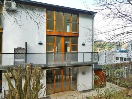 Architekten-Reihenhaus mit Dachterrasse