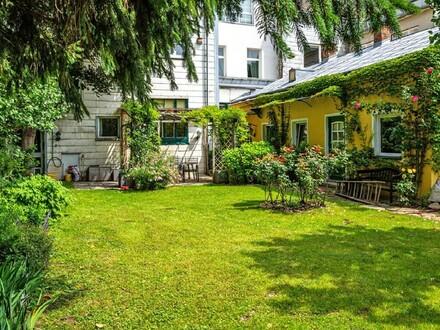 Renovierungsbedürftige Gartenwohnung in Gründerzeithaus