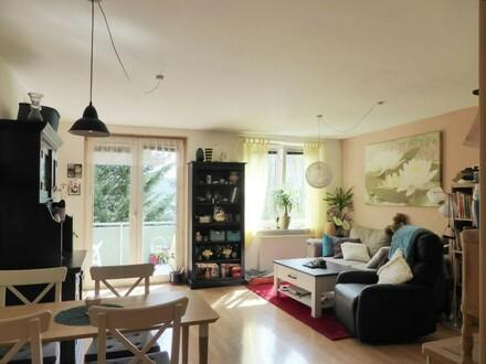 4-Zimmer-Familienwohnung mit Balkon in Niedrigenergiehaus