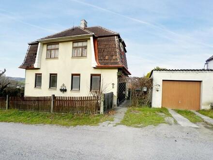 Sanierungsbedürftiges Wienerwaldhaus mit Potential