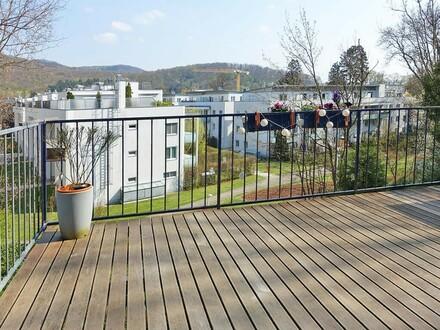 Gartenmaisonette an der Wiener Stadtgrenze