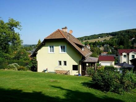 Einfamilienhaus in ruhiger Siedlungslage unweit vom Zentrum Eichgraben