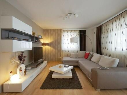 Teilmöblierte 2-Zimmer-Miete mit Loggia und Balkon
