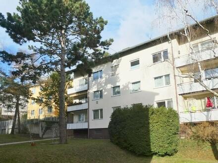 Gut geschnittene 3-Zimmerwohnung mit gartenseitigem Balkon im Wiental