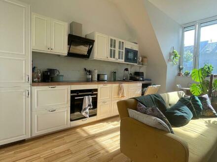 Loftfeeling pur - DG-Mietwohn(t)raum! Moderne 1-Raum NEUBAUwohnung mit Wohlfühlgarantie - naturnahes Wohnen im beliebten…