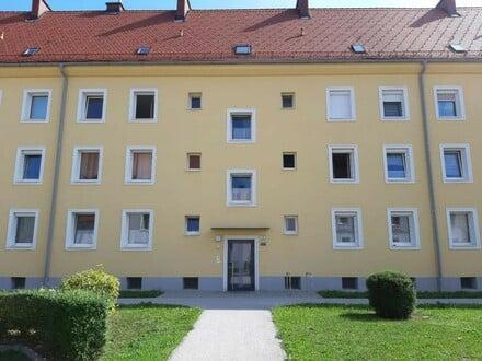 Sanierte und dennoch leistbare 3 Raum Wohnung in Stadtrandlage im nachgefragten Stadtteil Steyr Münichholz! Prov.frei!
