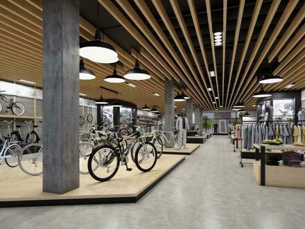 Repräsentative XL-Geschäftsfläche (ERSTBEZUG) mit 265 m² in Toplage! Individuelle Planungsmöglichkeiten - beste Verkehrsanbindung!…