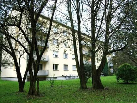 Wohntraum in absoluter Ruhelage mitten im Grünen und doch nah am Zentrum - sehr preiswerte und ansprechende 3-Zimmer-Wohnung…
