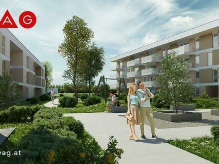 WAG: Zeitlose Architektur und klare Raumkonzepte laden zum Leben ein - Ihr neues Zuhause am Naherholungsgebiet Pichling…