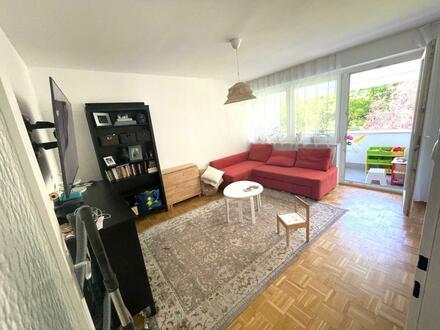 Preiswertes Wohnen im beliebten Stadtteil Linz-Oed! Zahlreiche Grünflächen und traumhafte Loggia laden zum Entspannen ein!