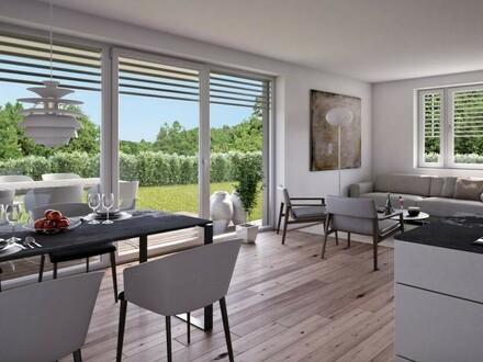 Schnell zugreifen ! Große geförderte barrierefreie Wohnung in ruhiger naturnaher Einfamilienhaus-Siedlungslage!