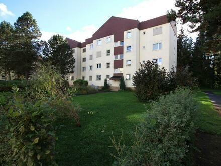 Großzügige Single- oder Pärchenwohnung mit Lift, Parkplatz & West-Balkon mit schönem Blick ins Grüne