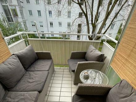 Erleben Sie ein einzigartiges Wohngefühl! Helle Wohnung mit sonnigem Balkon in grüner Stadtrandlage! Top Infrastruktur vorhanden!…