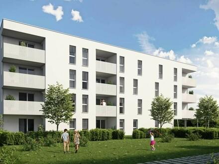 Blick ins Grüne - ganz oben wohnen - leistbar dank großer Wohnbauförderung! Idyllisches Wohnen in Grünlage in Pichling