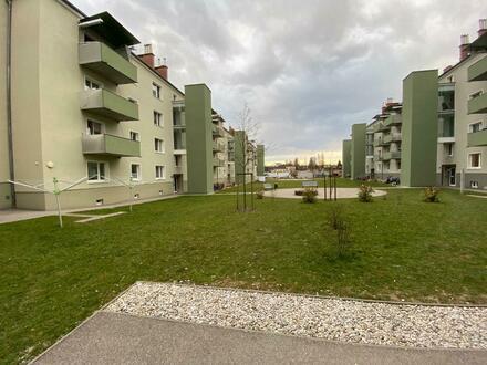 Preiswerter Wohn(t)raum (in saniertem Objekt) mit Balkon in der beliebten WAG-Siedlung - opt. Infrastruktur, denn. familienfreundliches…