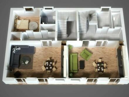 Geräumiges Haus für Familie und Freunde -Viel Platz, für kleines Geld! Ihr Eigentum ab Mtl. € 322,--