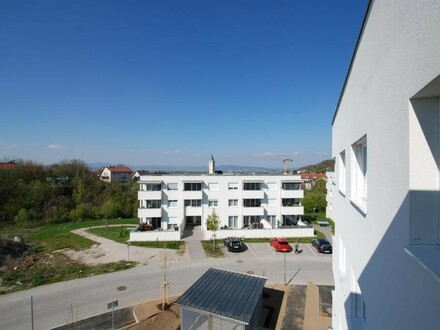 Wohnen mit Weitblick - Geförderte Eigentumswohnung am Wagnerberg - rasch beziehbar!