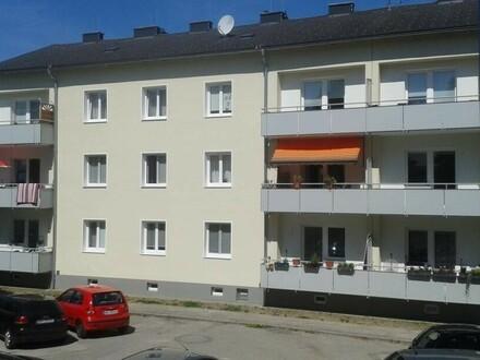 2-Raum-Wohntraum mit BALKON am Inn, nur 5 Min. ins Zentrum von Braunau oder Simbach (BRD), die dennoch naturnahe Lage verspricht…