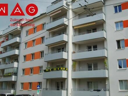 4040 Urfahr- sofort beziehbar: Ideale Stadtwohnung mit Sonnenbalkon, renoviert und sofort beziehbar