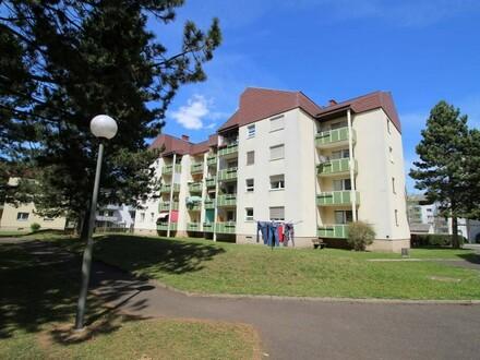Ruhige & gepflegte Zweizimmerwohnung mit West-Balkon, Lift und Parkplatz - in hübscher Waldrandlage - provisionsfrei!