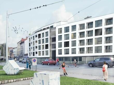 Repräsentative OPENSPACE Neubau-Geschäftsfläche in etabliertem Gewerbeumfeld mit Frequenz - OPTIONAL mit Lagerflächen u.…