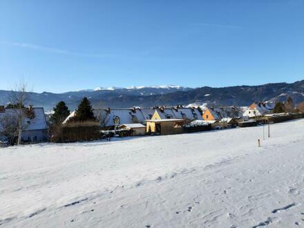 Traumhafte Baugrundstücke in Top-Lage - absolut ruhig, am südseitigen Sonnenhang in Fohnsdorf mit herrlicher Aussicht auf…