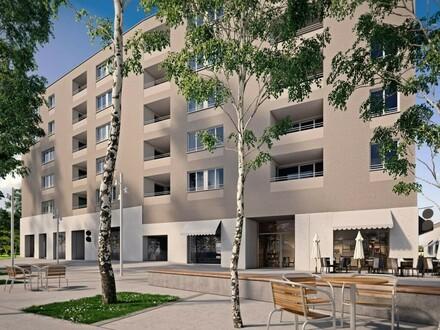FORUM OED: 43,47 m² repräsentative NEUBAU-Gewerbefläche mit Schaufenstern - etabliertes Gewerbeumfeld - OPTIONALE Lagerflächen…