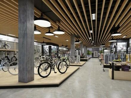 FORUM OED - OPEN SPACE - NEUBAU: Repräsentative Geschäftsfläche - XL-Schaufenster - 1A Infrastruktur - etabliertes Gewerbeumfeld…