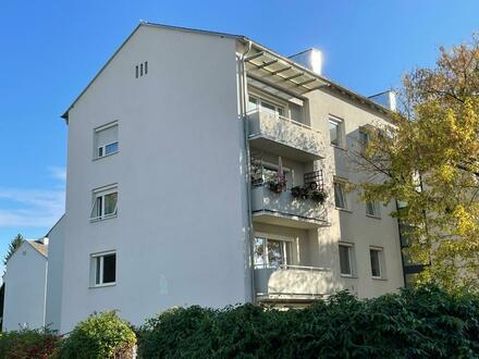 3-Raum-Wohnung mit Balkon in kinderfreundlicher, sanierter Siedlung! Ideal für ruhesuchende Familien! Viele Grünflächen u.…