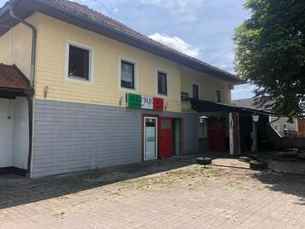 GASTRO-Zentrum mit Pizzeria, Disco und Kaffeehaus nahe Ried zu verkaufen 3 Lokale oder Bauträgergrundstück