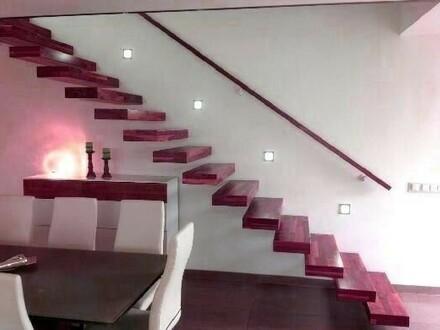 Einfamilienhaus in modernem Design mit Flachdach - 4 Schlafzimmer - NEUER PREIS !!