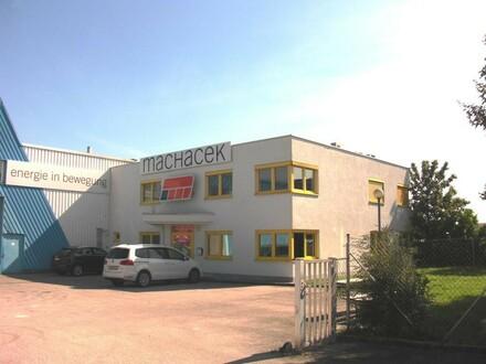 Hallen auf Baurecht zu verkaufen plus Büro