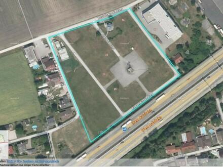 Grundstück mit B und MB Widmung direkt an der A 1 und an der Autobahnauffahrt Haid oder Baurecht