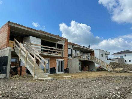 4 Doppelhaushälften mit Flachdach im Bau - Fertigstellung November 2021 Schöner Ausblick PROVISIONSFREI