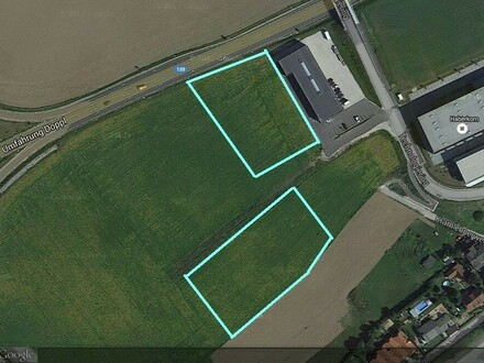Betriebsgrund in bester Lage mit besten Anschlüssen ca 6000 m2 und 45.000 m2 Pachtgrund und