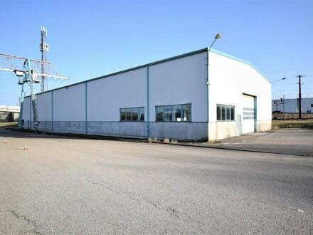 970m² große Lagerhalle, Gewerbehalle mit 5to Kran