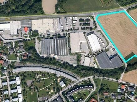 Gewerbegrundstück nahe der Autobahnauffahrt noch 15.000 m2 verfügbar für einen produzierenden Betrieb
