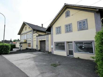 Großzügiges Sanierungsobjekt mit 300m² Fläche in Ansfelden - Perfekt für Gastronomie, Arbeiterzimmer, Garcionerre-Wohnungen,…