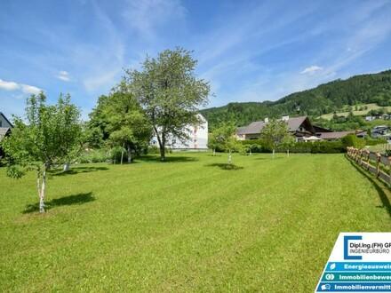 Grundstück mit ca. 1750m² Fläche in toller Lage in Spital am Pyhrn