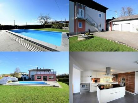 Riesiges saniertes Wohnhaus mit 2,5 Wohneinheiten - sehr viel Platz und fast 1800m² Grundstück
