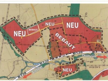 Neues Betriebsbaugebiet mit guten Anschlüssen- auch direkt an der Osttangente !!!!