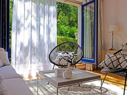 Entzückende 2-Zimmer-Wohnung mit Gartenzugang - barrierefrei