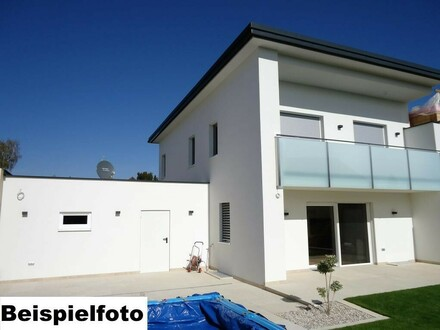Gut geplanter Baumeisterrohbau für ein Doppelhaus mit toller Aussicht und guten Energiewerten
