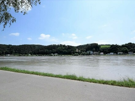102m² Eigentumswohnung mit Donaublick (Top2) - Erste Reihe zur Donau im Zentrum von Aschach