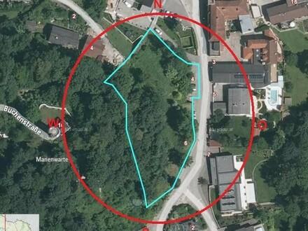 Großes Grundstück in prominenter Lage- eine Rarität Für ein tolles Einzelhaus oder Bauträger