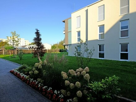 Letzte Einheit: 4-Zimmer-Wohnung in Traun mit sehr großem Garten - Neubau im Zentrum - provisionsfrei