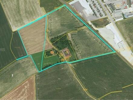 Vollaufgeschlossenes Betriebsbaugebiet in bester Lage ab 1000 m2 möglich