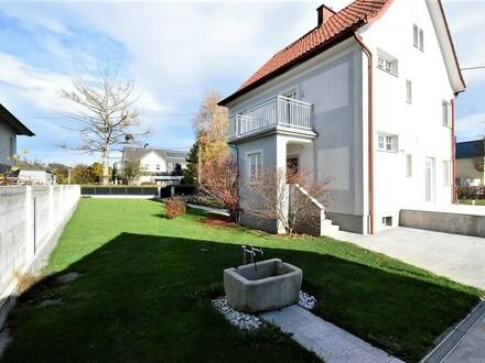 Schönes Wohnhaus mit herrlichem großen Garten in ruhiger Siedlungslage